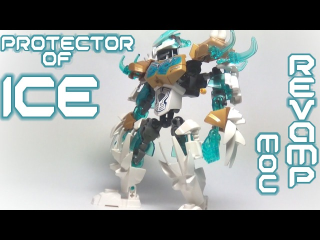Protector of ICE - Bionicle (MOC/Revamp)
