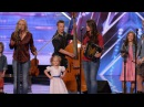 Americas Got Talent S09E02 The Willis Clan 12 Member Family Band Too Cute