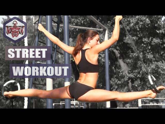 Sexy Ukrainian girls - street workout motivation | IRON LAND