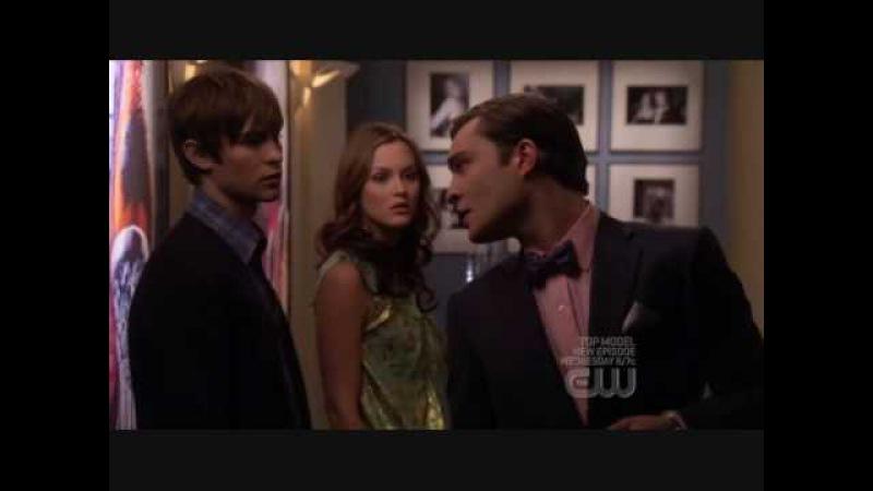 Blair Chuck and Nate Scene 2x22 Gossip Girl