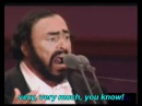 Pavarotti - Caruso (english subtitles)