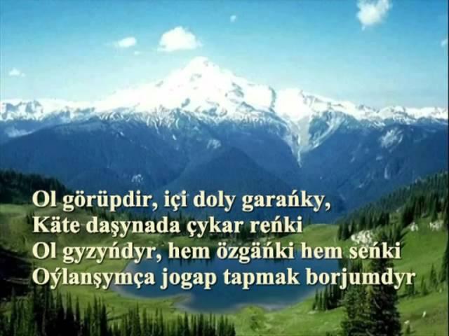 Goşgy: Sowal-jogap Kerim gurbannepesow -- ses: Juma Ýazmyradow
