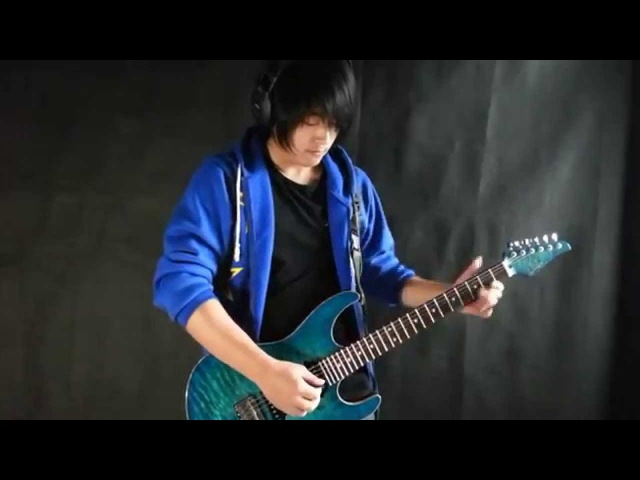 Naruto Shippuden OP3「Blue Bird」Electric Guitar - by Vichede