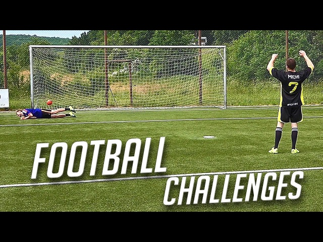 FOOTBALL CHALLENGES • KONZI vs MICHI