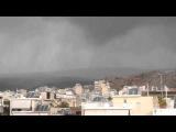 Tornado - western Athens - Greece 22/10/2015