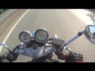 Suzuki Bandit 400. Выжимаем максималку 180 км/час