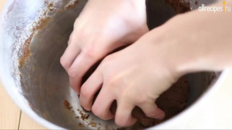 Имбирное печенье Пряничные человечки_ видео-рецепт