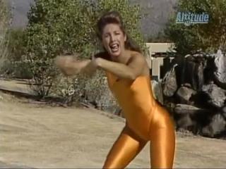 Denise Austin Lady in Gold