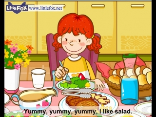 Im Hungry - Learn English for Kids Song by Little Fox