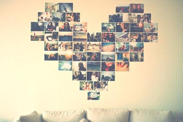 Коллаж из фотографии на стену своими руками