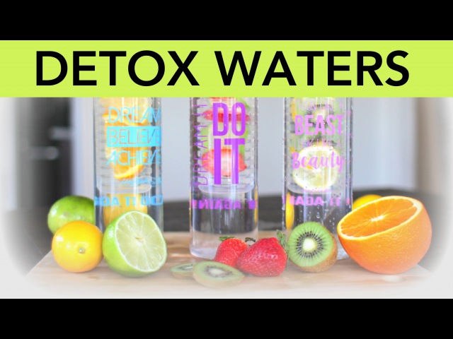 3 Detox Water Recipes for fat flushing, anti-aging, and beauty