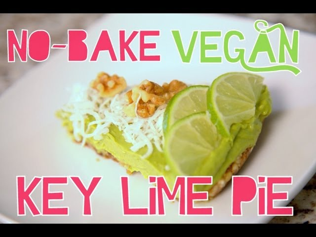 No-Bake Vegan Key Lime Pie   Cheap Clean Eats
