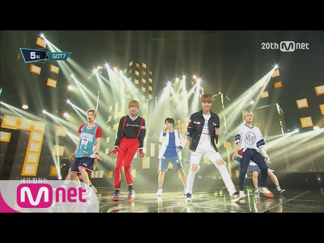 GOT7(갓세븐) - 'Just right(딱좋아)' M COUNTDOWN 150723 EP.434