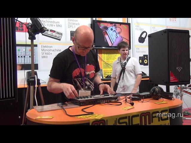 Mmag.ru: Elektron Machinedrum SPS-1UW MKII video review and demo