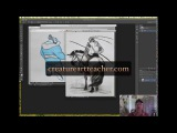 Art Lessons - The Importance of Good Silhouette (Aaron's Art Tips 7)
