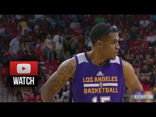 Jabari Brown Full SL Highlights vs Knicks (2015.07.13) - 20 Pts