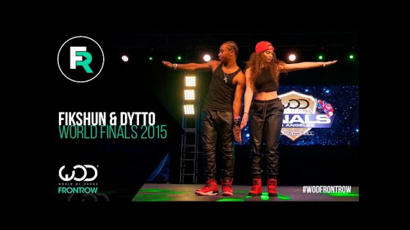 Fik-Shun Dytto | FRONTROW | World Of Dance Finals 2015 | WODFINALS15