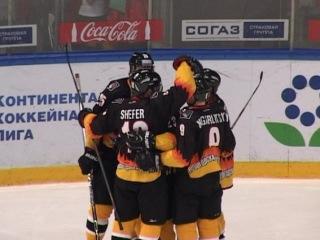 Без надежды на плей-офф. Хоккейная «Северсталь» сразилась с рижским «Динамо»
