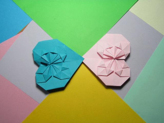 ЗАКЛАДКА - СЕРДЕЧКО. Красивое Оригами из Бумаги. Видео