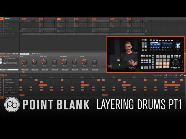 Maschine Tutorials w Icicle (Shogun Audio) Part 1 - Layering Drums