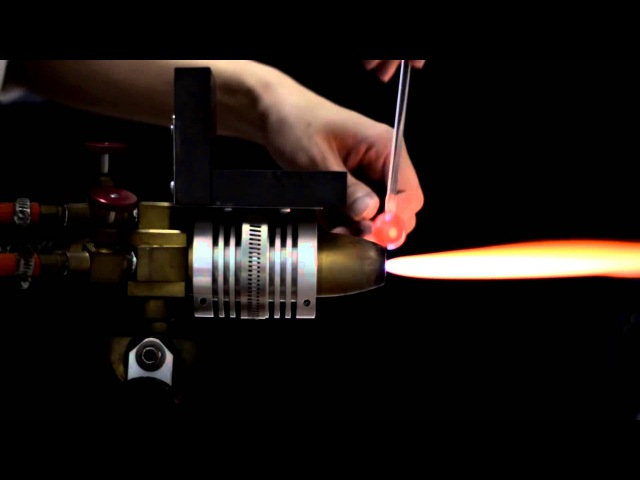 Amazing solar system glass blowing by Satoshi Tomizu
