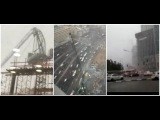 Israel: Rainstorms hit large parts of Israel Crane collapses in Tel Aviv during storm