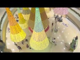 ifc mall Christmas 2015 Glowing Trees Making-of