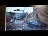 Автокран попал в искрометное ДТП