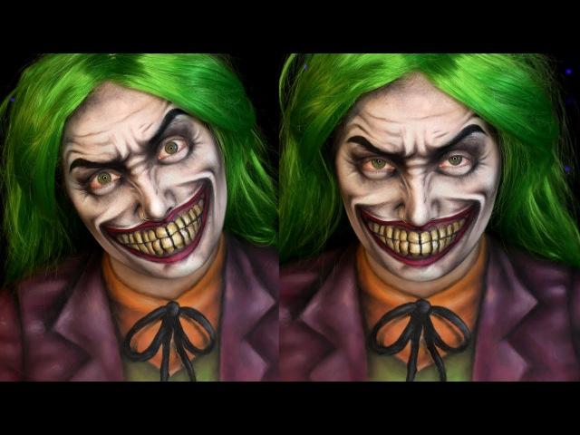 Joker DC Comics Halloween Makeup Tutorial | Jordan Hanz / Alex Faction