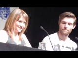 Spartacus Part 4 with Lucy Lawless, Liam Mcintyre, and Manu Bennett DragonCon 2013 Atlanta, GA