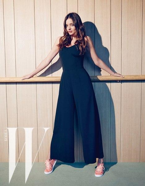 Фото Миранды Керр (Miranda Kerr) для журнала W Magazine Korea июнь 2015