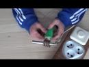 Как сделать клеевой пистолет из кипятильника своими руками