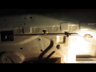 Замена бокового стекла (передней двери) на Рено Логан (Renault Logan) и Лада Ларгус