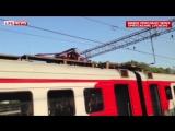 Зацепер погиб в Москве от удара током на крыше поезда (7.06.2015)