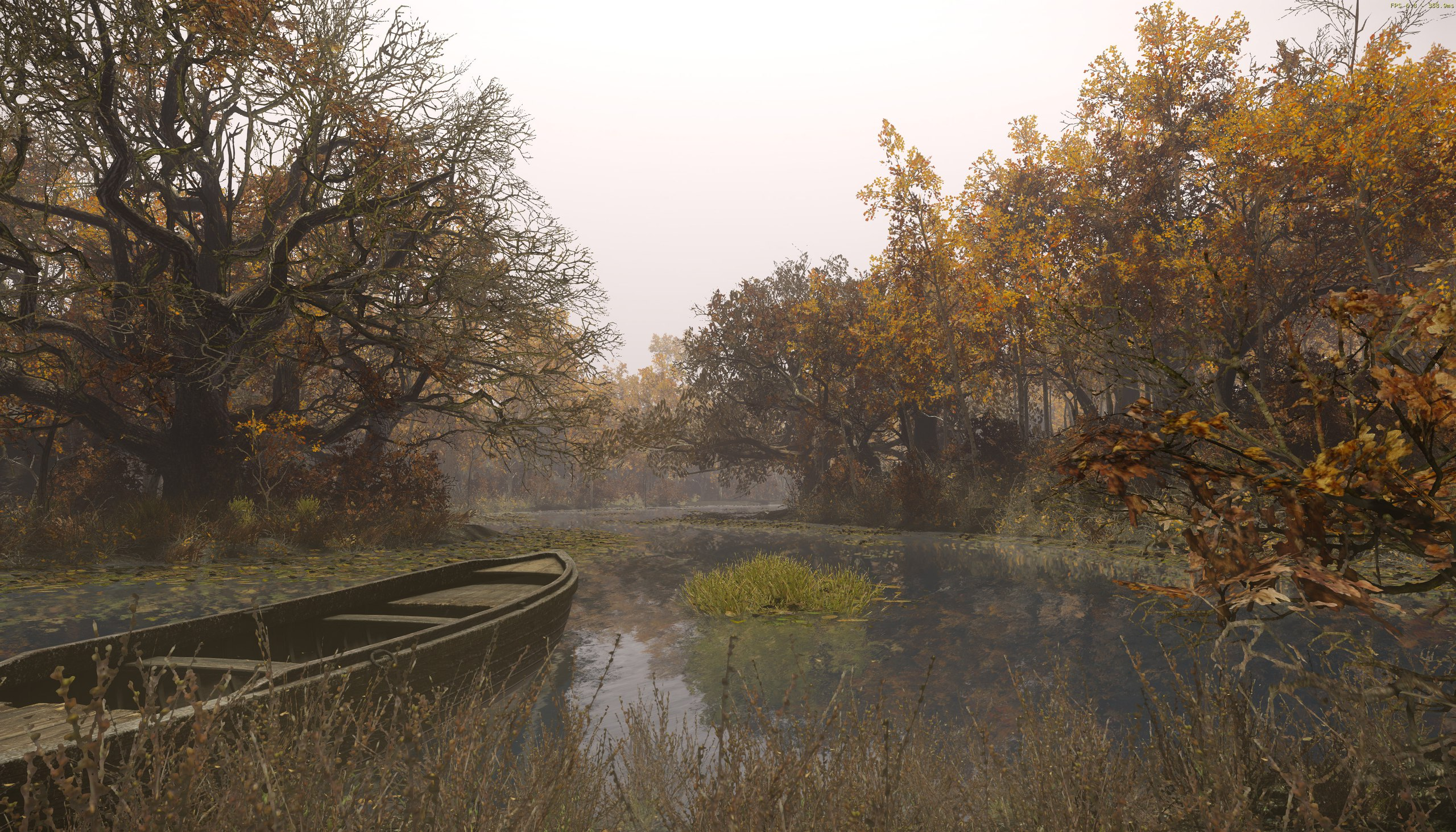 Creating a quick cryengine scene autumn river for Cryengine 3 architecture