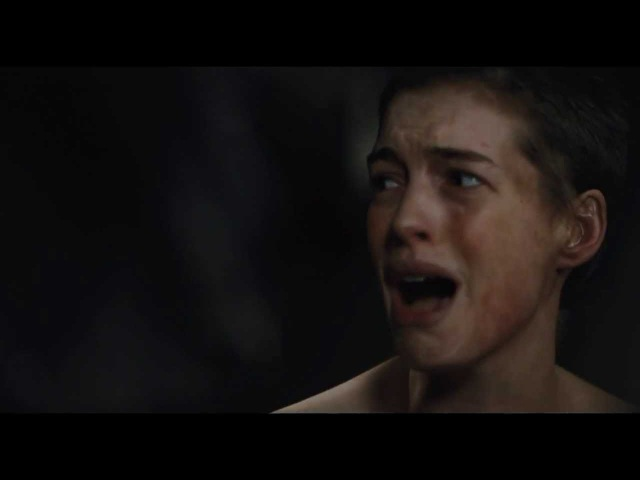 I Dreamed a Dream Les Miserables Anne Hathaway