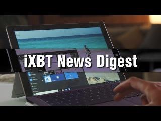 iXBT News Digest - Старт Microsoft Windows 10, OnePlus, Samsung SE370 и другое