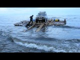 Путешествие по Байкалу на самоходном камерном плоту