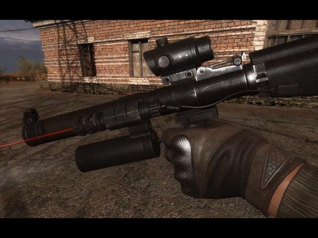 GUNSLINGER mod [S.COP] vss val / visual upgrade / scopes / gameplay