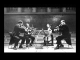 Tchaikovsky - String quartet n3 - Borodin I 1950s
