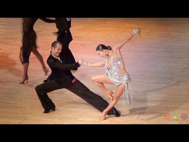 Roman Kovgan - Dariia Palyey | Assen 2015 | Professional Latin - R2 R