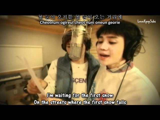 Yoseob Daniel - First Snow And First Kiss MV [English subs Romanization Hangul]