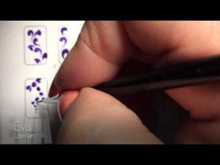 Роспись ногтей! Урок 5! Все Видео уроки! Стрекоза