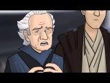 HISHE RUS:Как следовало закончить фильм Звёздные войны:Эпизод I-Скрытая угроза