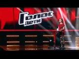 Голос Дети 08 03 2014 Арина Данилова и Толик на столике!