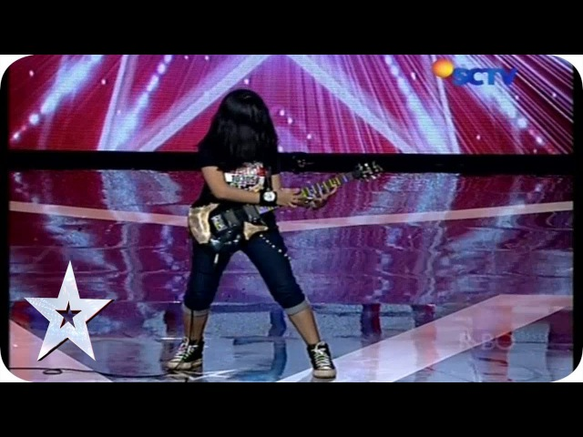 Teenage Girl with Her Guitar Skill - Ratna Mutu Manikam - AUDITION 5 - Indonesias Got Talent