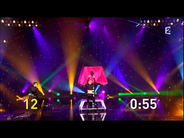 Hans Klok - World record - 15 grandes illusions en 5 minutes