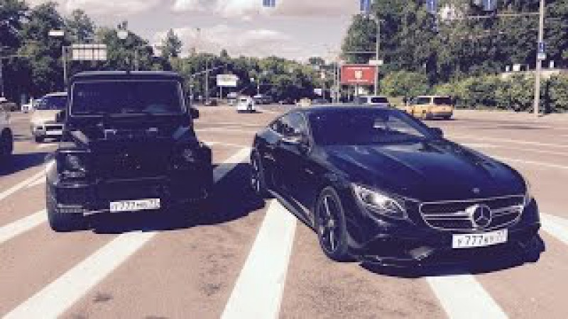 Teaser — DT Test Drive — Mercedes S63 AMG Coupe G63 AMG Brabus