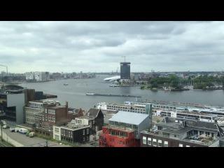 Celebrity Silhouette leaving Amsterdam