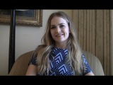 Britt Robertson Talks TOMORROWLAND, What She Learned From George Clooney and More